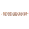 KYLIE Statement Rhinestone Choker in Gold