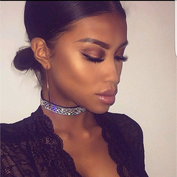 Lolo Embellished Statement Choker