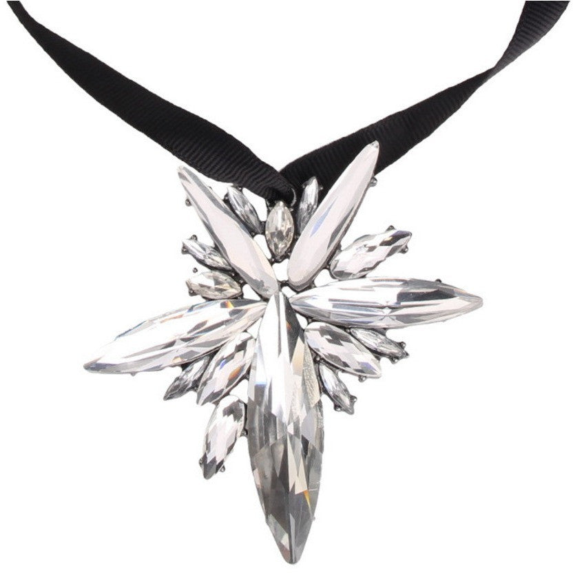 Supernova Statement Oversized Gem Choker - House of Pascal