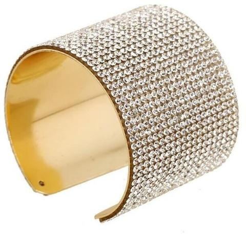 CRYSTAL LUXE Cuff Bangle