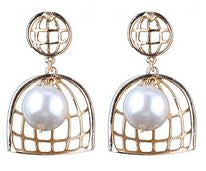 PEARL HARBOUR Earrings in Gold