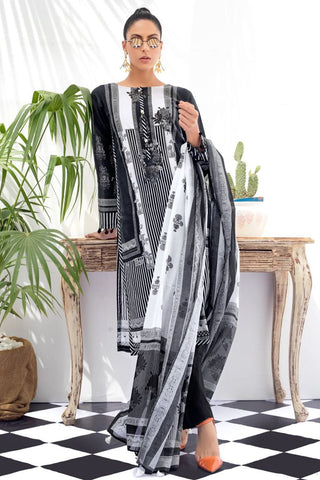 Gul Ahmed Black And White Collection