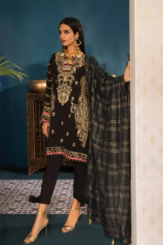 Khaadi Oak Silk Shalwar Suit