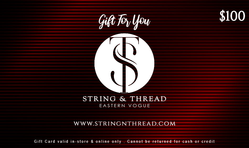 Gift Card - String & Thread