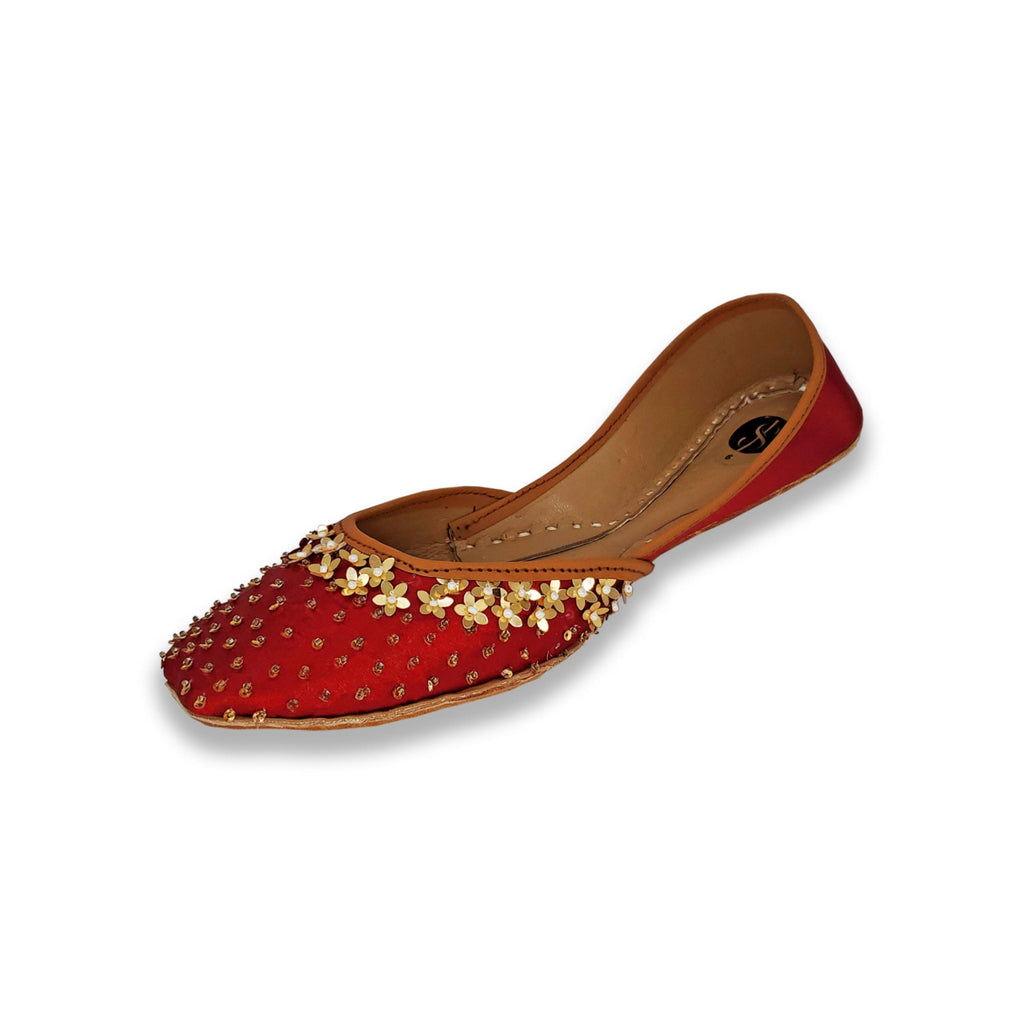 Khussa Pumps Women Shoes D3 - String & Thread