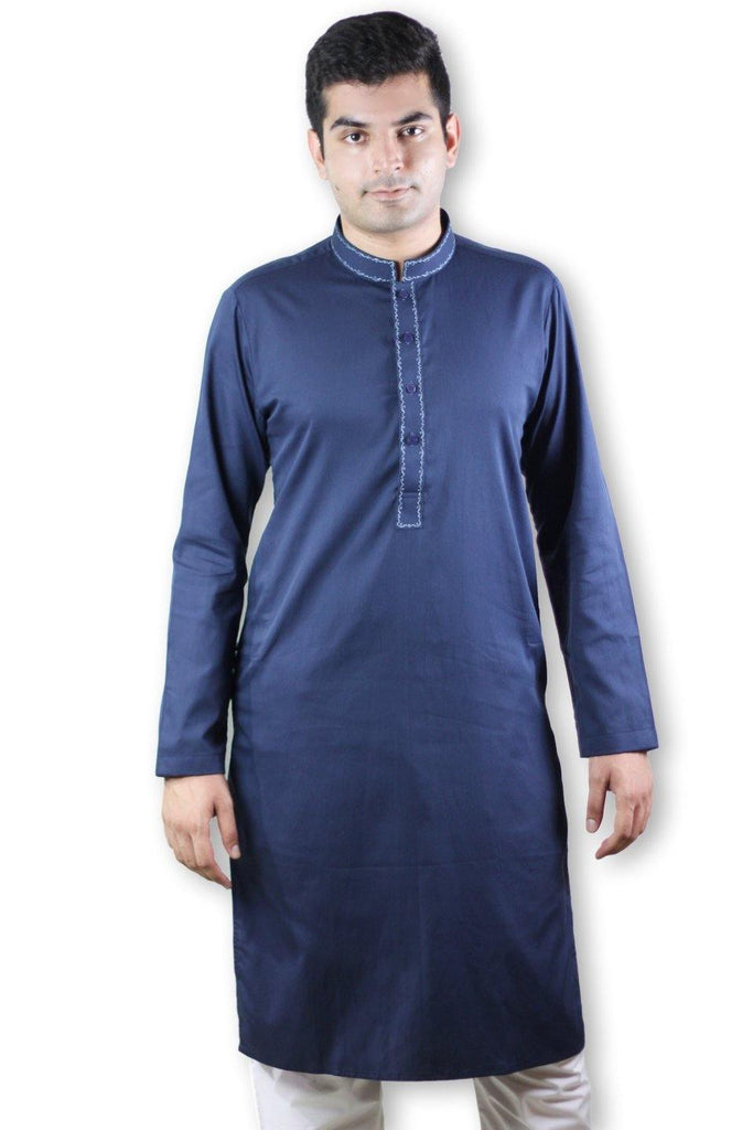 Embroidered Men Kurta - String & Thread