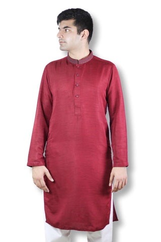 Men Embroidered Kurta - 102006