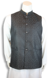 Jamawar Waist-Coat - MWC1019 - String & Thread