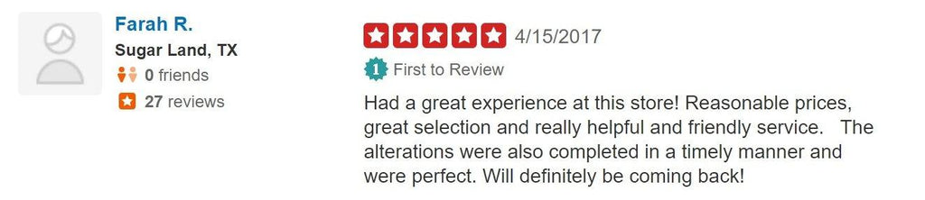Yelp Review 3 - String & Thread