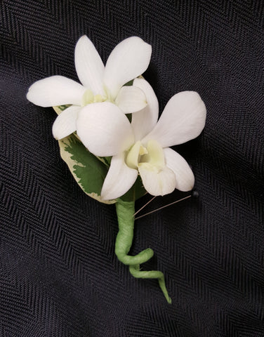 Dendro Orchid Boutonniere