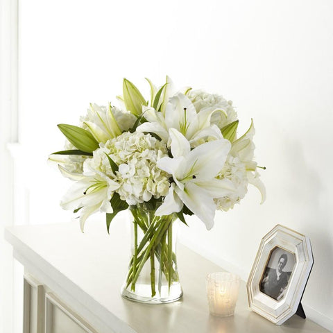 The Compassionate Lily Bouquet