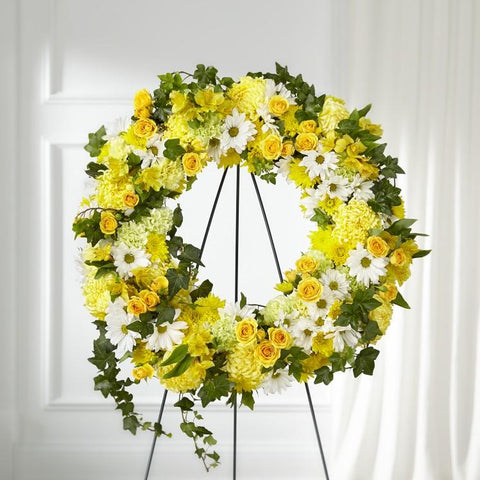 The Golden Remembrance Wreath