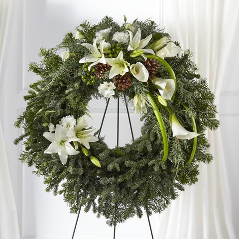 The Greens of Hope Wreath