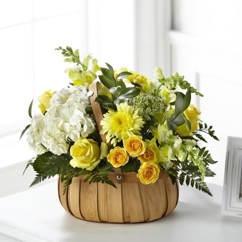 The Rustic Remembrance Basket