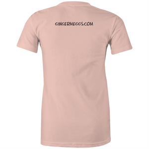 Ginger and Proud - Womens T-Shirt (Most Popular)