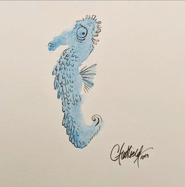 Seahorse Series: #1 of 5 (Original Art)