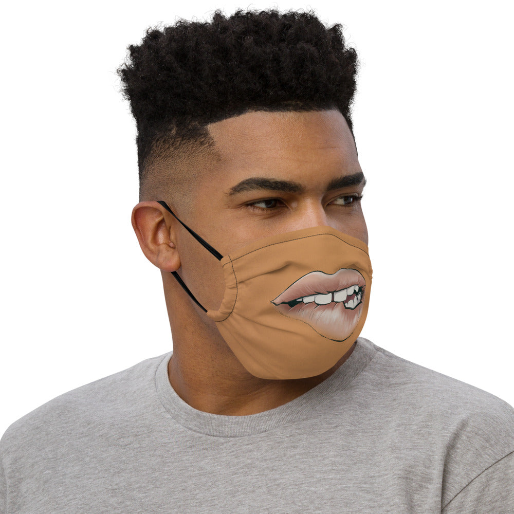 SEXY LIPS Premium face mask - Type 2