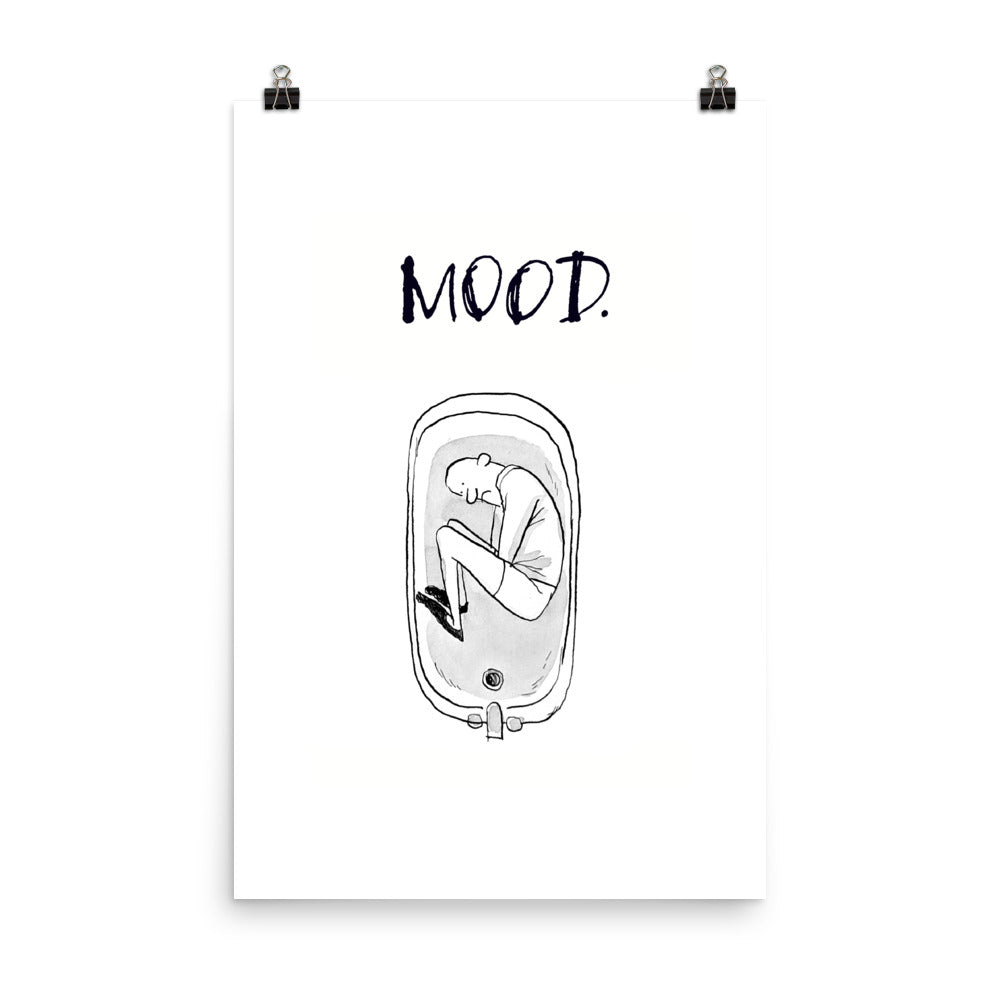 Bath Mood - Unframed Print