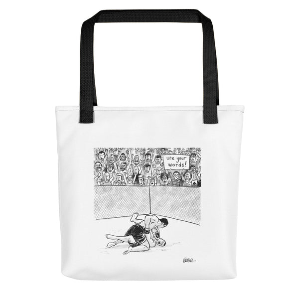 Use Your Words! Tote bag