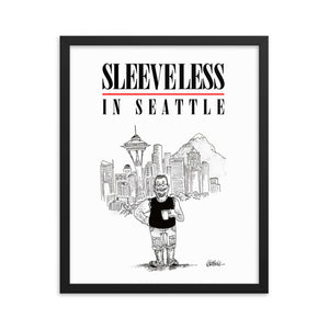 Sleeveless in Seattle (framed)