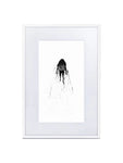 Ink Art #1 - (Framed and Matted Print)