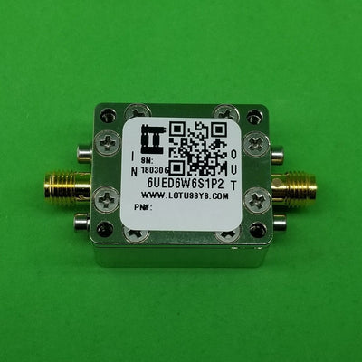 "RF Enclosure Kit for 0.062""/1.6mm PCB (size 3/4""X9/16"") Passive SMA Connector"