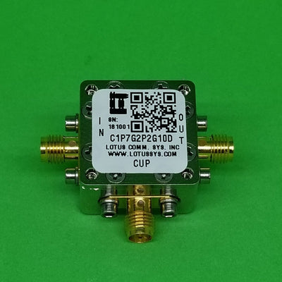 Directional Coupler 1.7 GHz to 2.2 GHz 10dB 2W Low Insertion Loss