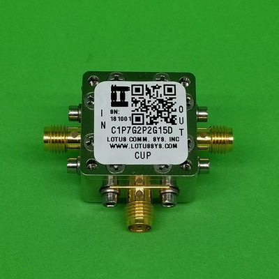 Directional Coupler 1.7 GHz to 2.2 GHz 15dB 2W Low Insertion Loss