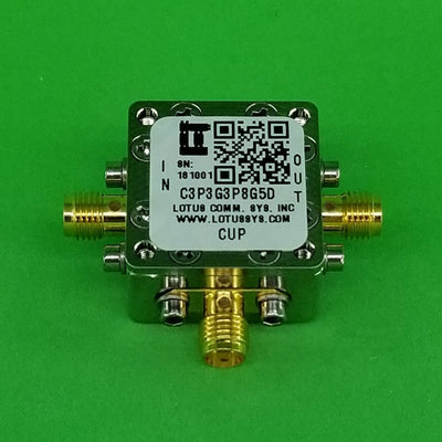 Directional Coupler 3.3 GHz to 3.8 GHz 5dB 2W Low Insertion Loss