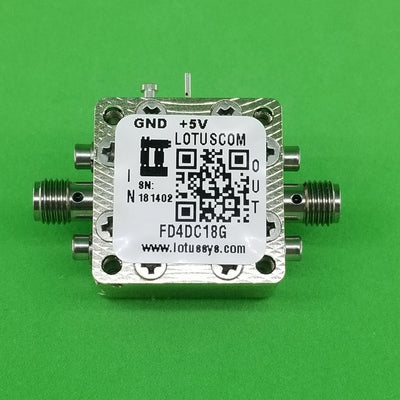Frequency Divider/Prescaler Divide by 4 (DC to 18 GHz) FD4DC18G