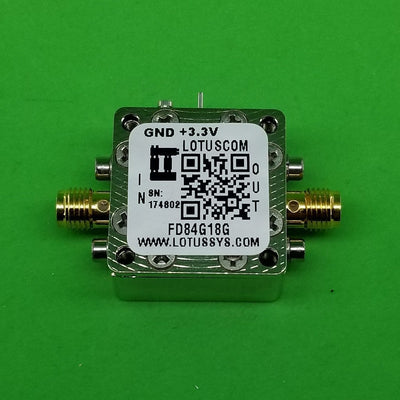 Frequency Divider by 8 (4G to 18 GHz)