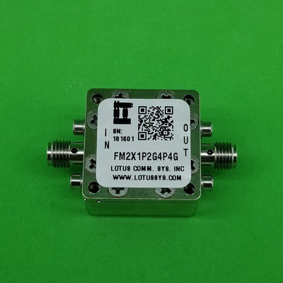 Freq. Multiplier X2 (OUTPUT 1.2G to 4.4 GHz) FM2X1P2G4P4G