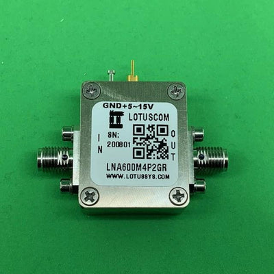 Broadband Ultra Low Noise Amplifier with LDO 0.6dB NF 600M~4.2GHz 19dB Flat Gain