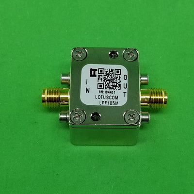 Low Pass Filter LPF105M (LTCC Construction) Pass Band DC-105MHz
