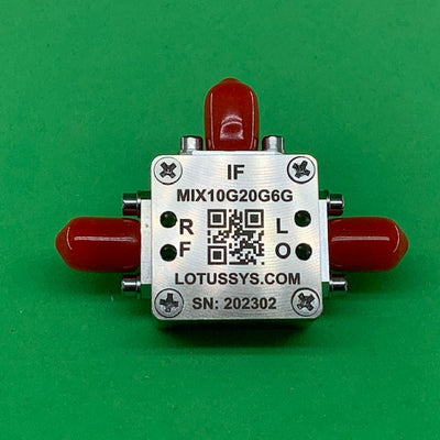 Passive Frequency Mixer (MIX10G20G6G) 10G - 20GHz RF and DC - 6G IF