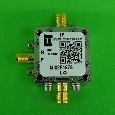 Passive Frequency Mixer (MIX2P4G7G) 2.4G - 7GHz RF and DC - 3G IF