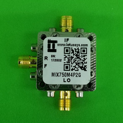 Frequency Mixer 750M - 4.2GHz RF and DC - 1.5G IF (Passive)