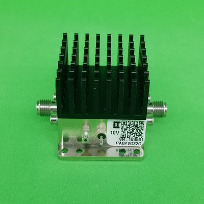 Power Amplifier 3dB NF 0.2 GHz to 22GHz 12dB Gain 28dBm P1dB SMA