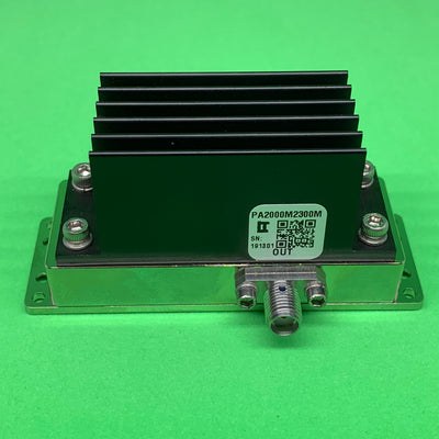 Power Amplifier 4W 2000 to 2300 MHz 35dB Gain 36dBm P3dB SMA