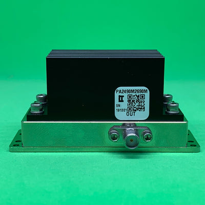 Power Amplifier 4W 2490 to 2690 MHz 32dB Gain 35dBm P3dB SMA