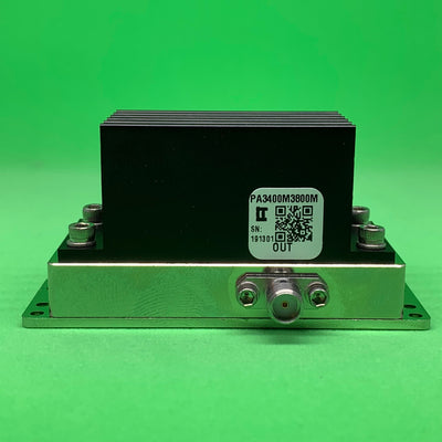 Power Amplifier 4W 3400 to 3800 MHz 35dB Gain 35dBm P3dB SMA