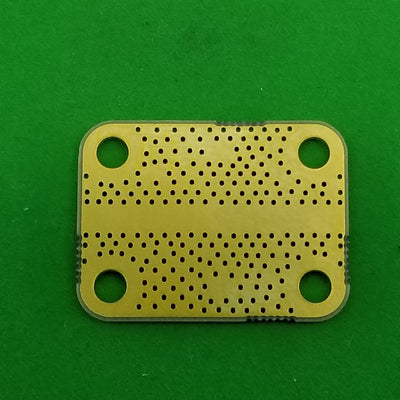 "Develop PCB Grounded Coplanar Waveguide (0.75""x0.5625""x0.02"") 38Mil Trace"
