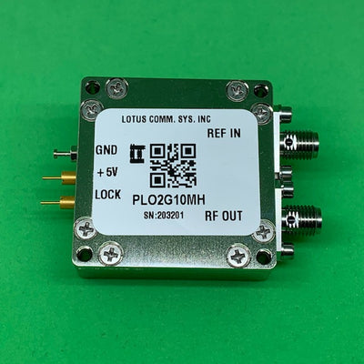 2 GHz Phase Locked Oscillator 10 MHz External Ref. High RF Output