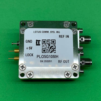 5 GHz Phase Locked Oscillator 10 MHz External Ref. High RF Output