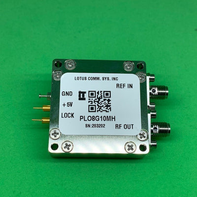 8 GHz Phase Locked Oscillator 10 MHz External Ref. High RF Output
