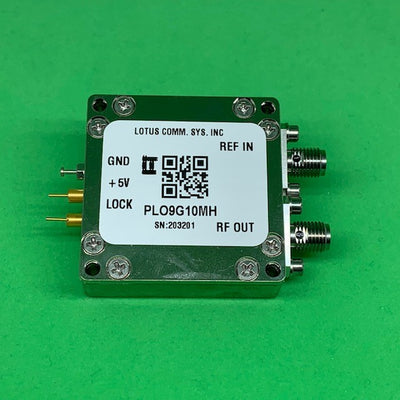9 GHz Phase Locked Oscillator 10 MHz External Ref. High RF Output
