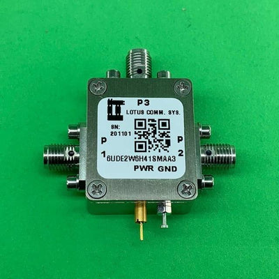"RF Enclosure Kit for 0.020""/0.5mm PCB (size 9/16""x3/4"") 3 SMA Active 0.41"" Height"
