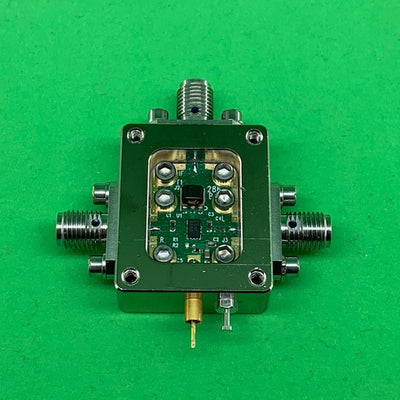 "6UDE2W6H41SMAA3 Enclosure Kit for 0.020""/0.5mm PCB (size 0.5625""x0.75"") 3 SMA Active 0.48"" Height"