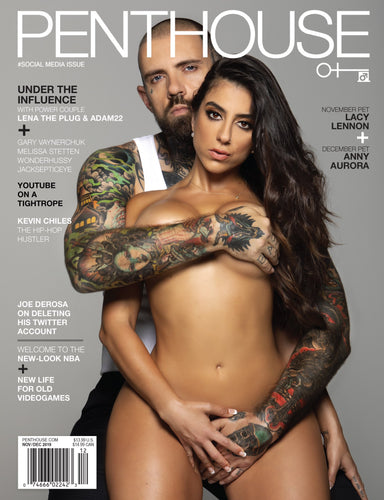 ADAM22 + LTP PENTHOUSE MAGAZINE (SIGNED)