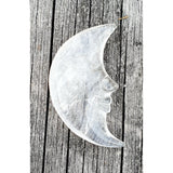 Clear Quartz Crescent Moon- Australia crystal shop afterpay websiteA Crystal Affair